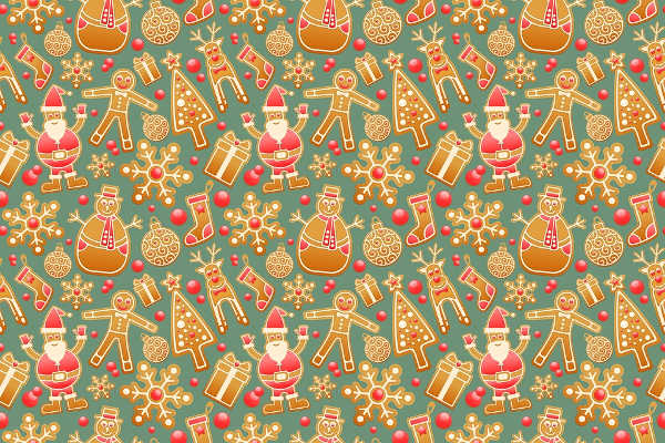free decorative gingerbread patterns