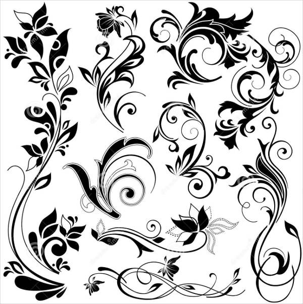 free floral design elements