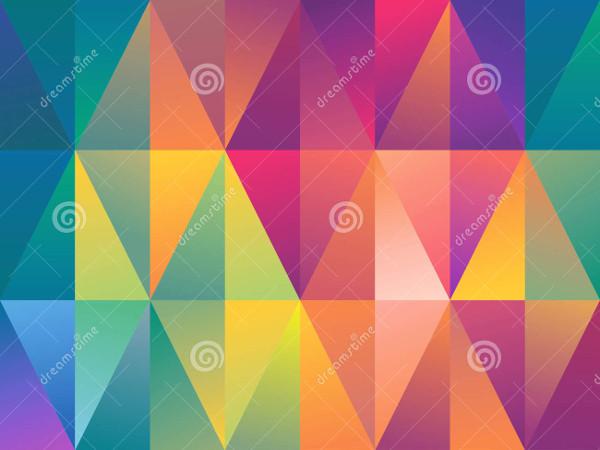 free geometric triangle patterns
