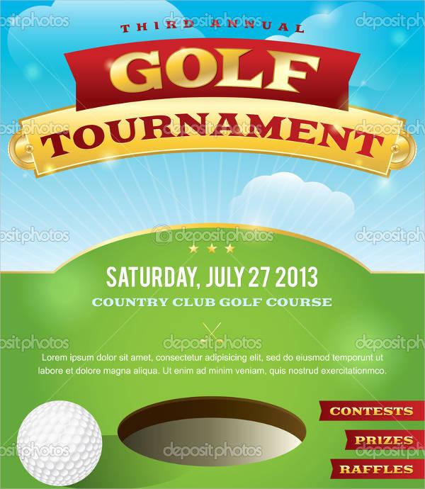 free golf tournament invitation template