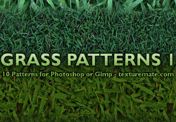 free grass patterns for photoshop