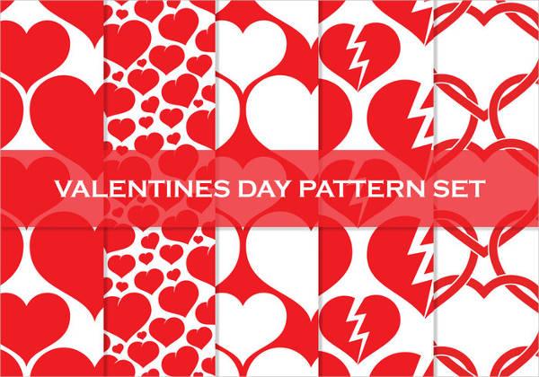 free high resolution valentines day patterns