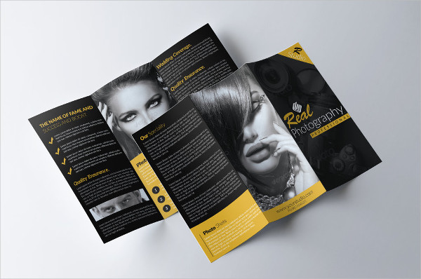 free photography brochure
