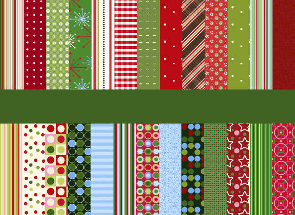 free photoshop christmas patterns