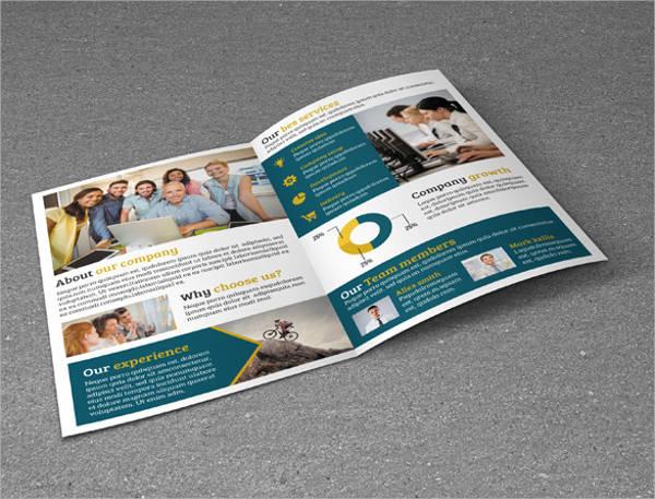 free printable bi fold brochure