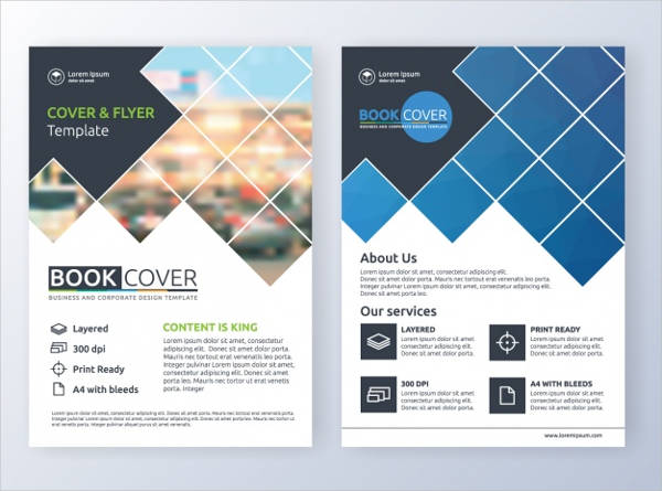 free vector business brochure template