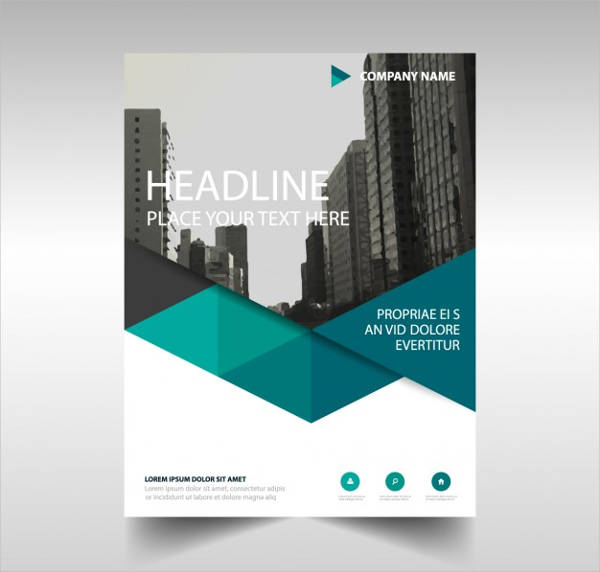 free vector corporate brochure