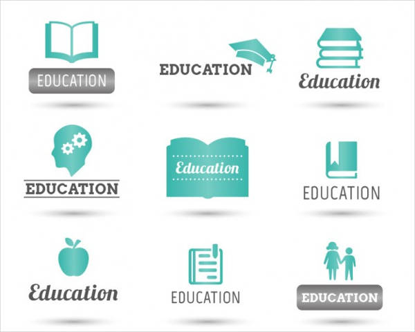 free vector education logos pack