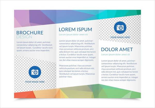 free vector tri fold brochure1