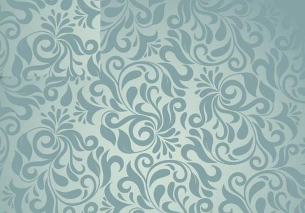 free vesctor damask patterns