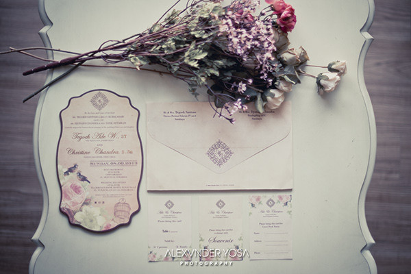 free vintage wedding invitation