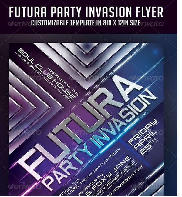 futura party invasion