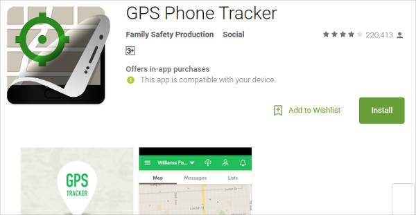 gps phone tracker for android