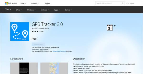gps tracker for windows