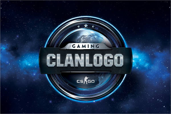 gaming clan logo template