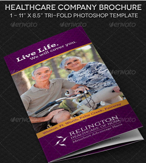 good healthcare brochure template1