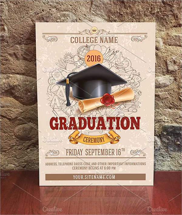 graduation ceremony invitation template1