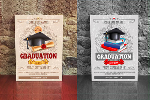 graduation ceremony invitation template2