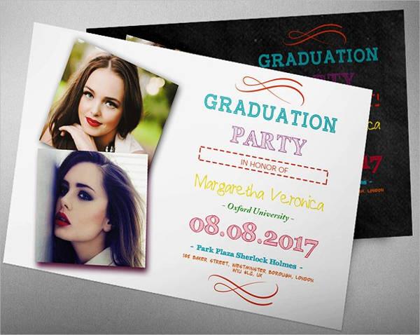graduation invitation xii