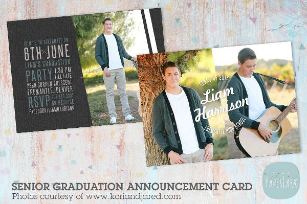 graduation party invitation template2