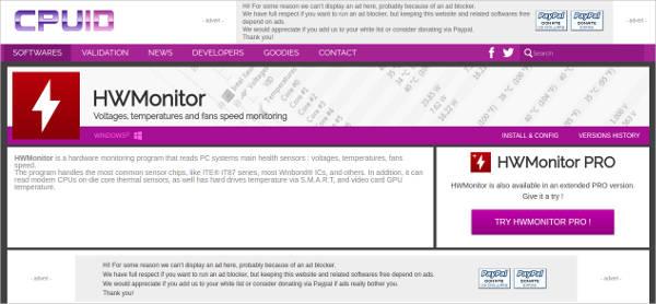 hwmonitor most popular software