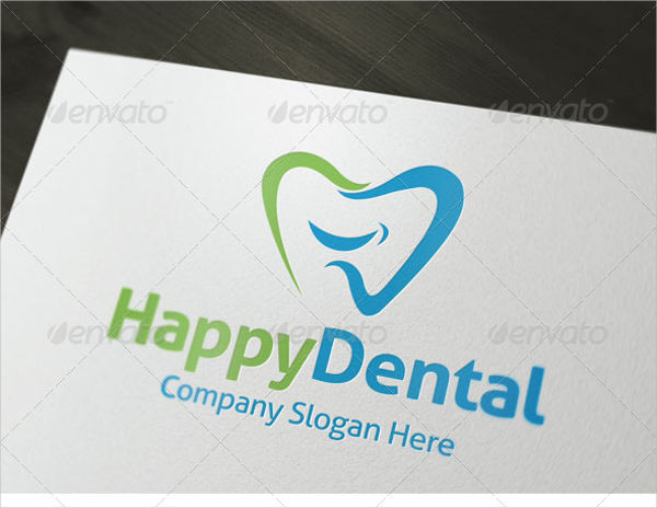 happy dental logo