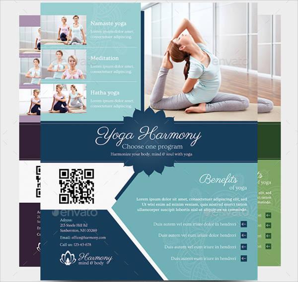 harmony yoga flyer