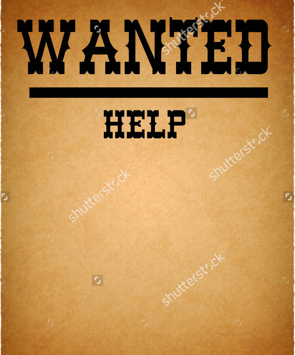 help wanted flyer template