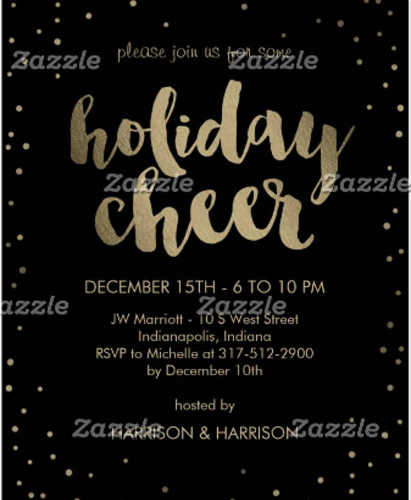 holiday business event invitation1