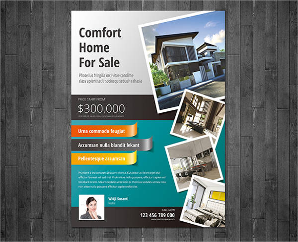 home realestate flyer