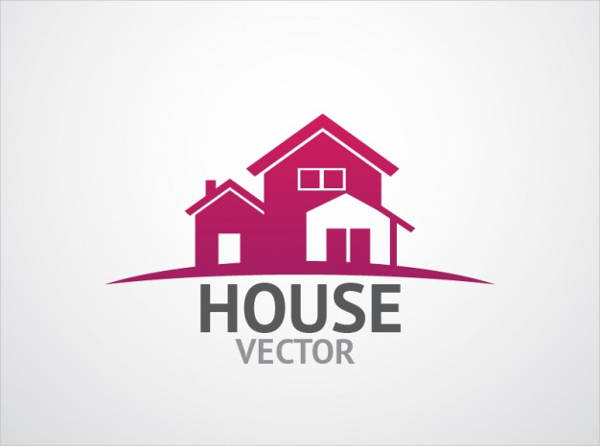 house vector logo design template