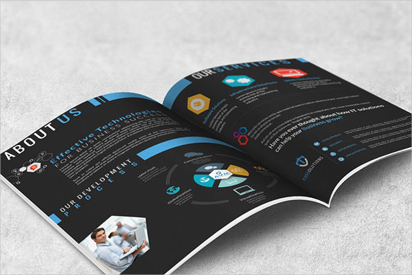it company brochure psd