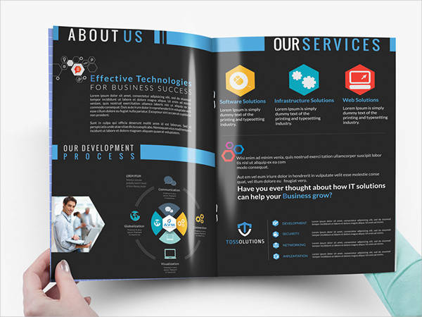 it services company brochure
