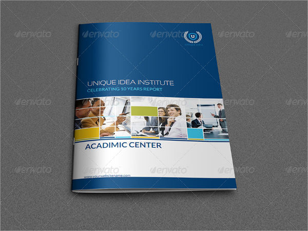 it training company brochure