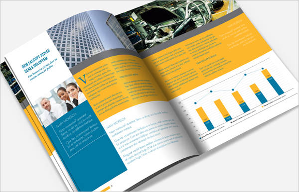 indesign advertising brochure template
