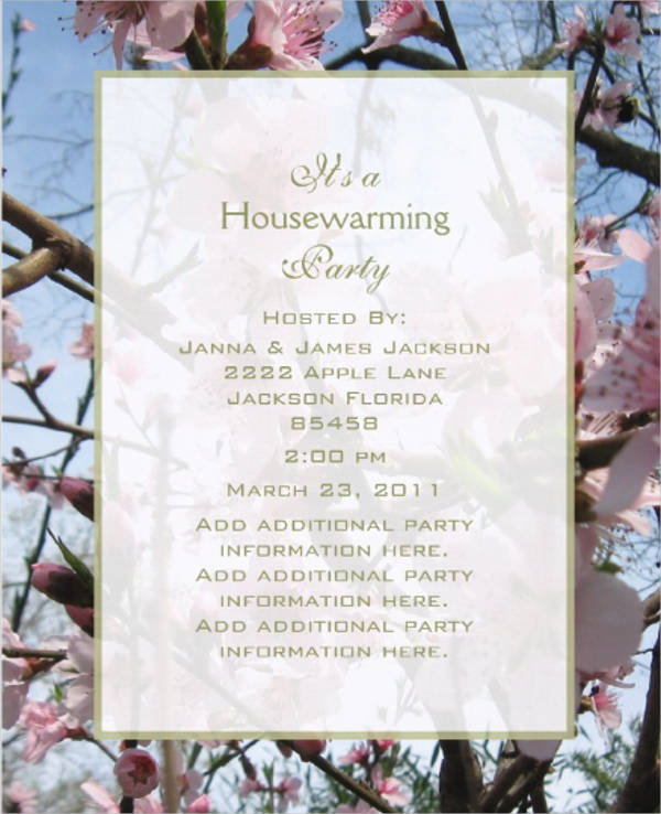 Free housewarming invitation templates militaryalicious free housewarming invitation templates stopboris