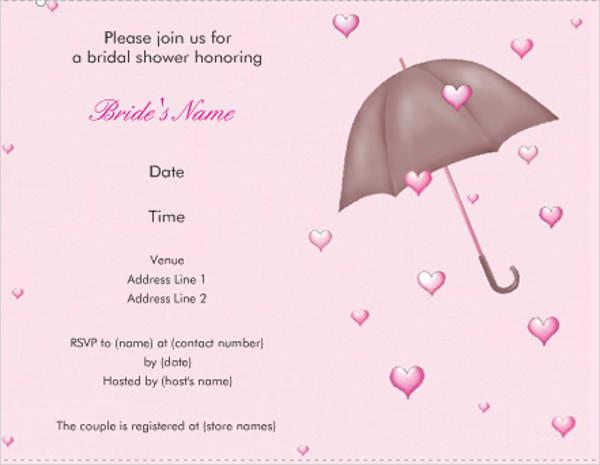 kinkos wedding shower invitation