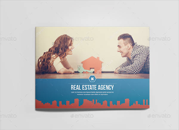 landscape real estate company brochure