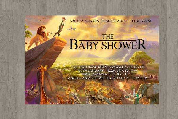 11  baby shower invitation templates