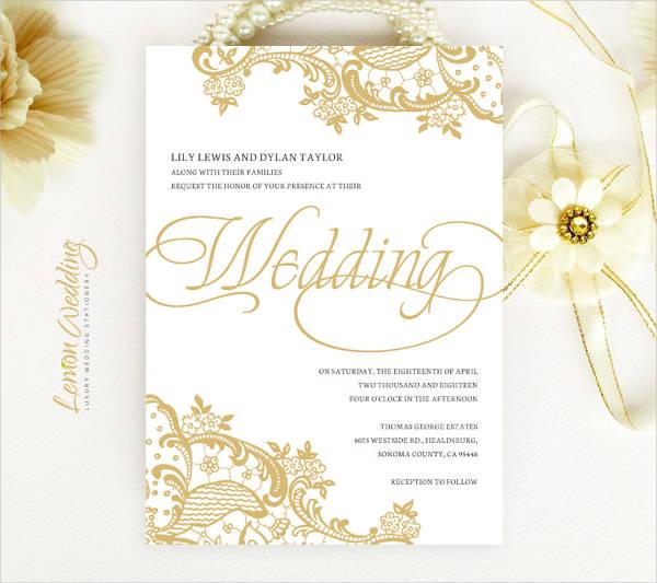 luxury golden wedding invitation1
