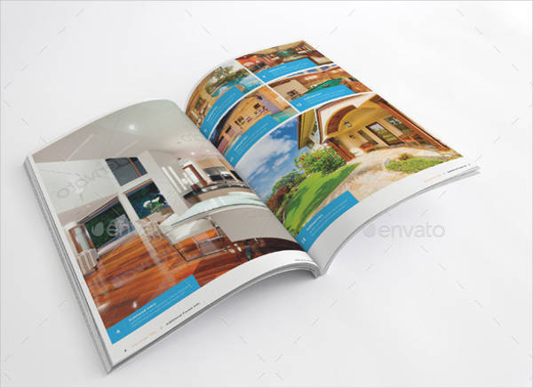 luxury property brochure template