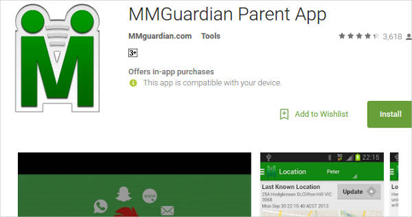 mmguardian parent app for android