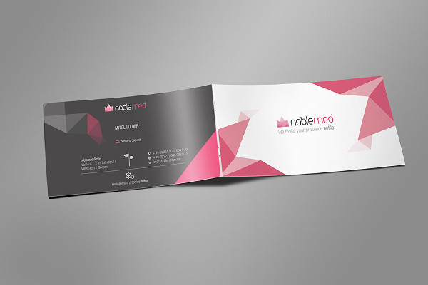 marketing brochure template free download