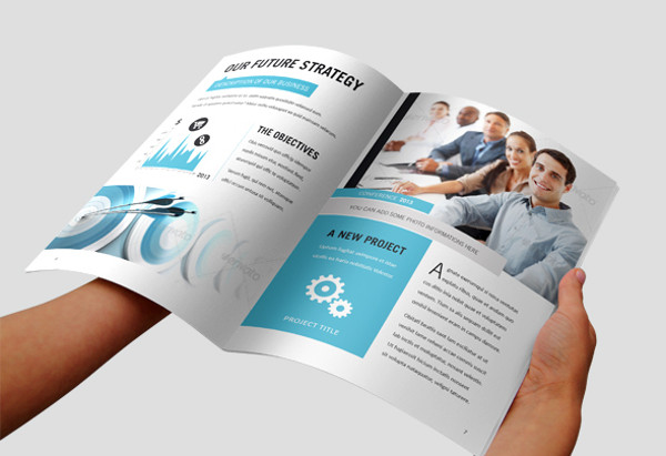 marketing brochure template indesign