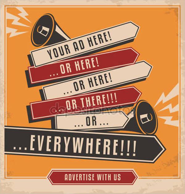marketing creative ad poster