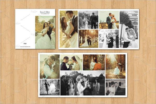 mini wedding photo album