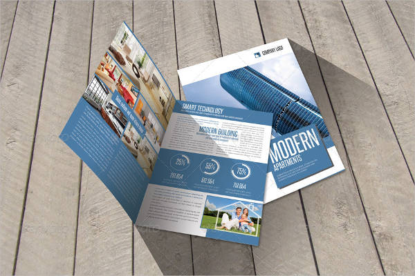 modern construction brochure