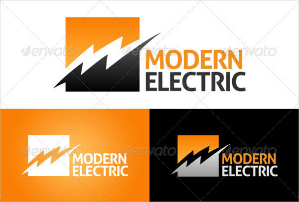 modern electric logo