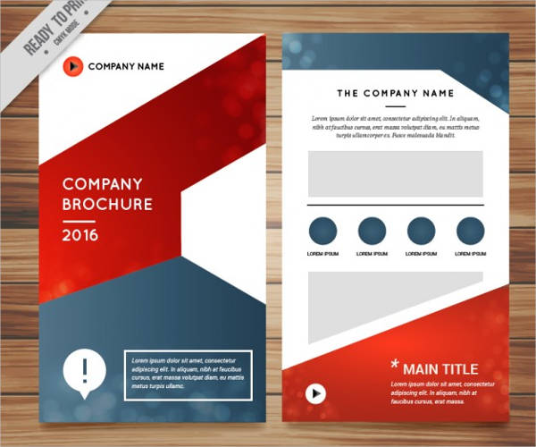 modern it company brochure