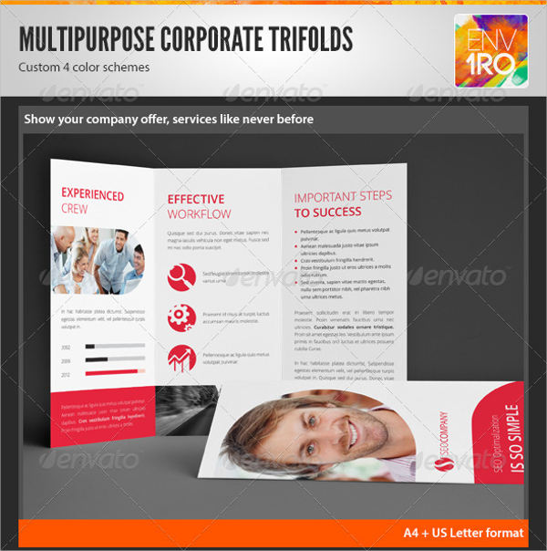 multipurpose cleaning company brochure